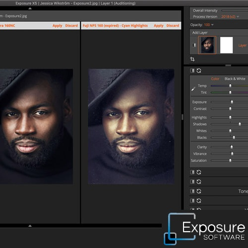 exposure image editing software