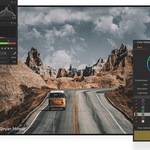 capture one photo editing software