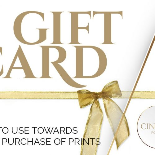 Photography Gift Cards