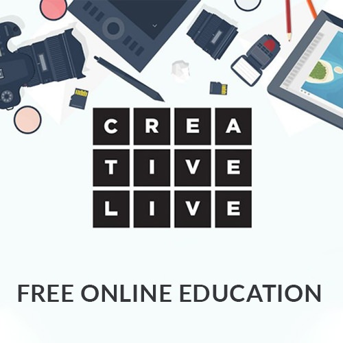 Creative Live online learning from professionals